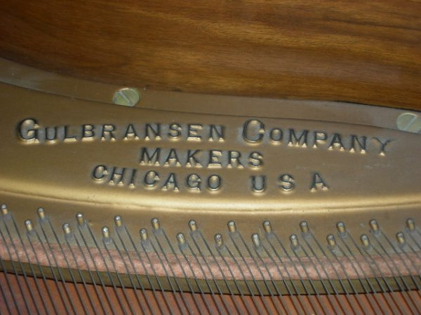 115: GULBRANSEN GRAND PIANO - 7