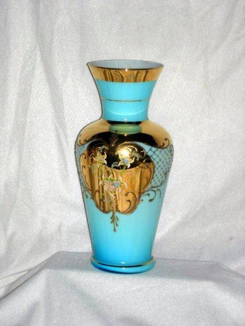 1: MURANO GLASS VASE