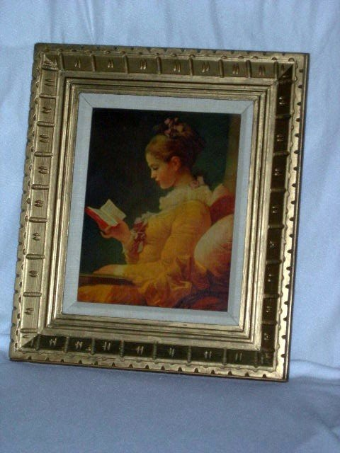 20: FRAMED YOUNG GIRL PRINT