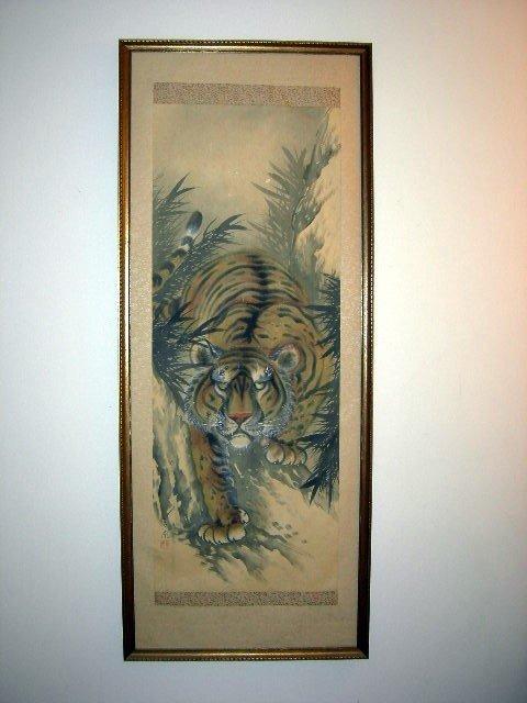 5: ORIENTAL TIGER SCROLL