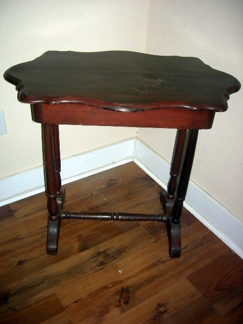 13: VINTAGE TRESTLE TABLE