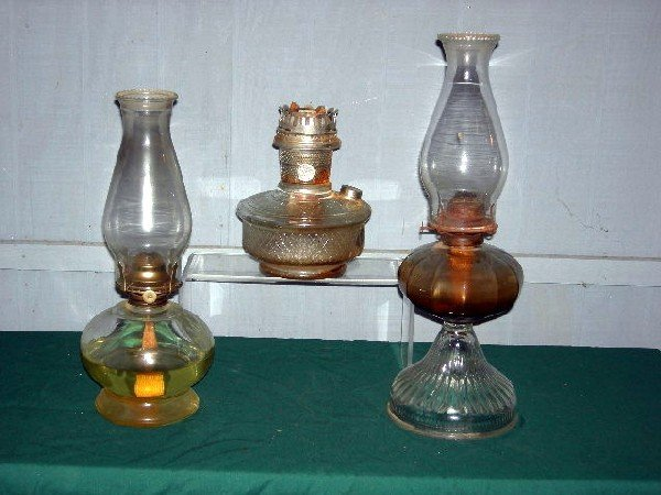 16: KEROSENE LAMPS