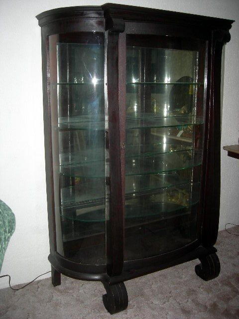 517: EMPIRE CHINA CABINET
