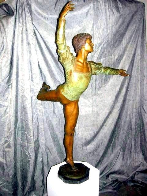 151: CHARLES COOPER PARKS BALLET DANCER SCULPTURE