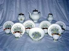 218 LOMONOSOV PORCELAIN TEA SET