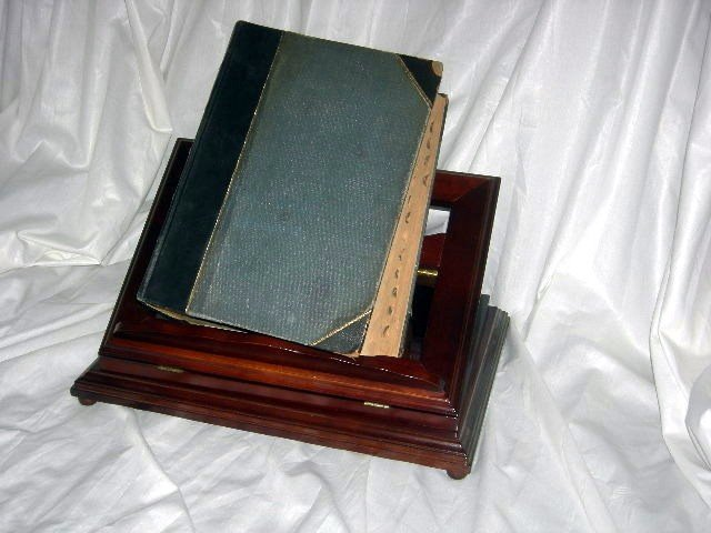 253: 1897 DICTIONARY ON STAND