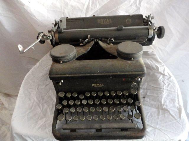 8: ROYAL TYPEWRITER