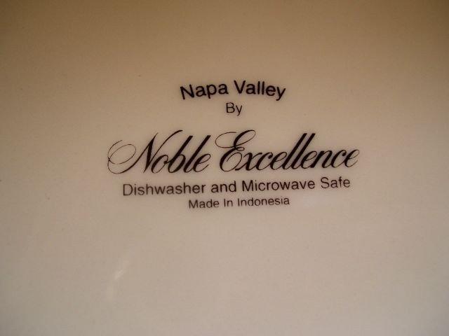 162: NAPA VALLEY DINNERWARE - 3