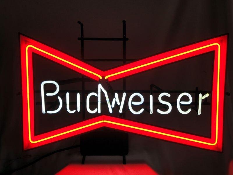 7: BUDWEISER NEON BEER SIGN
