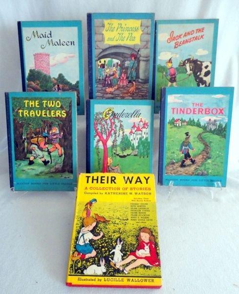 23: SEVEN VINTAGE CHILDREN'S BOOKS