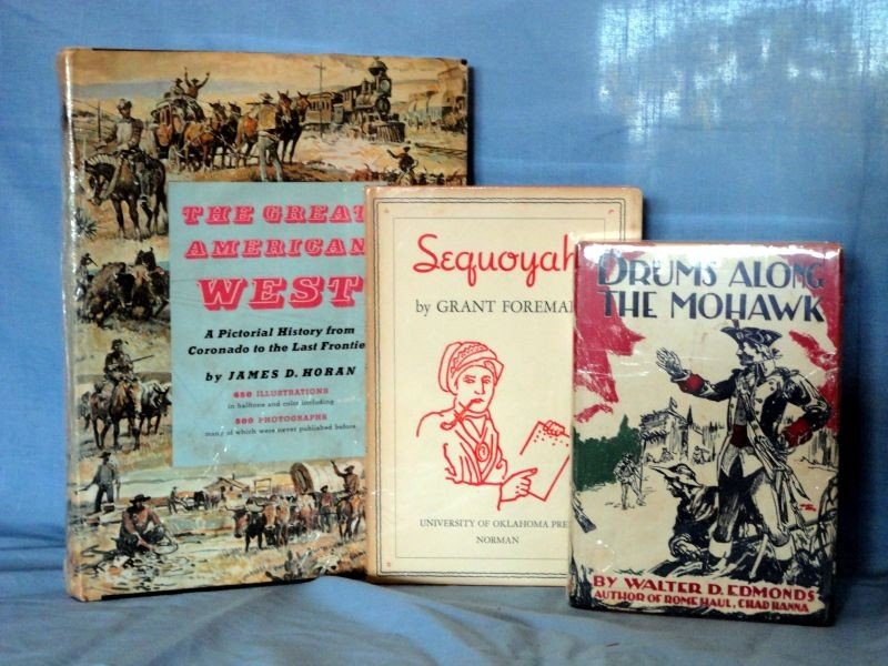 14: 3-BOOK LOT ON AMERICAN WEST