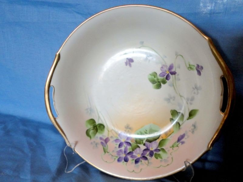 17: HAND PAINTED NIPPON BOWL