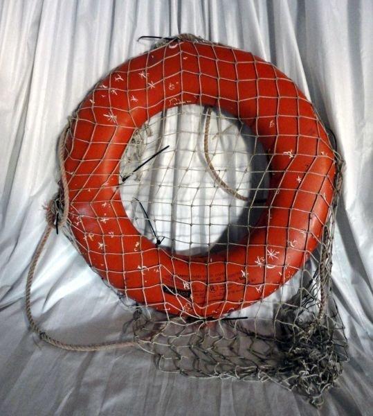 18: COAST GUARD JIM-BUOY W/TITANIC BUOY DECOR - 6