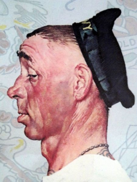 "96: NORMAN ROCKWELL ""THE TATTOO ARTIST"" - 3"