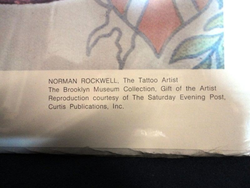 "96: NORMAN ROCKWELL ""THE TATTOO ARTIST"" - 5"