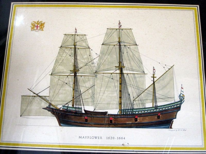 243: TWO H.A. MUTH SHIP LITHOGRAPH PRINTS - 3