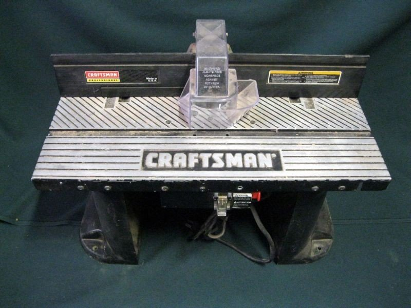 46: CRAFTSMAN ROUTER W/TABLE