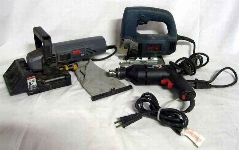 83: THREE ELECTRIC POWER TOOLS