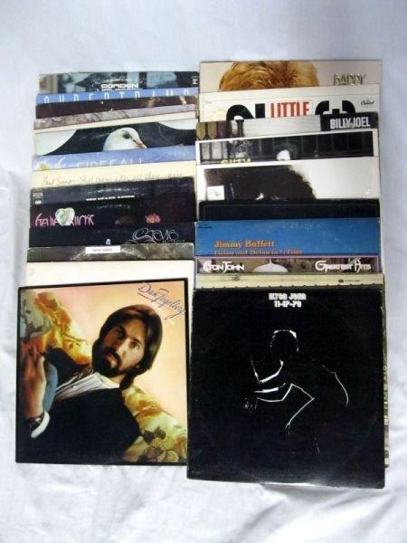 111: ROCK-N-ROLL ALBUM LOT
