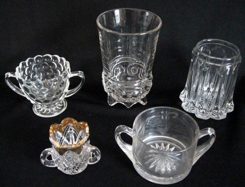 13: VINTAGE CLEAR GLASS