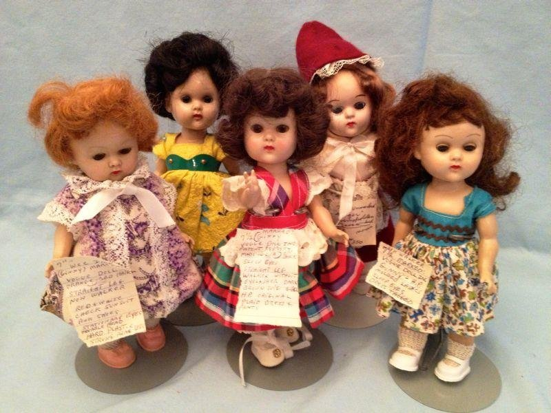 8: Hard Plastic Dolls