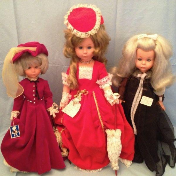 20: Furga Vinyl Italian Dolls