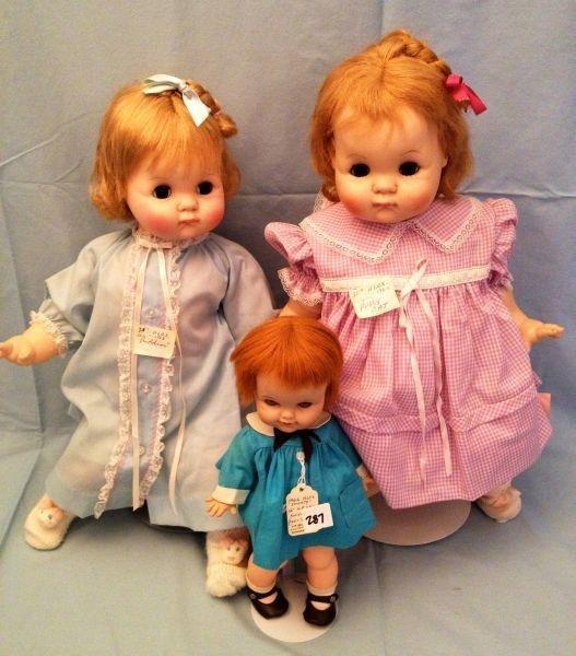 21: Madame Alexander Vinyl Dolls