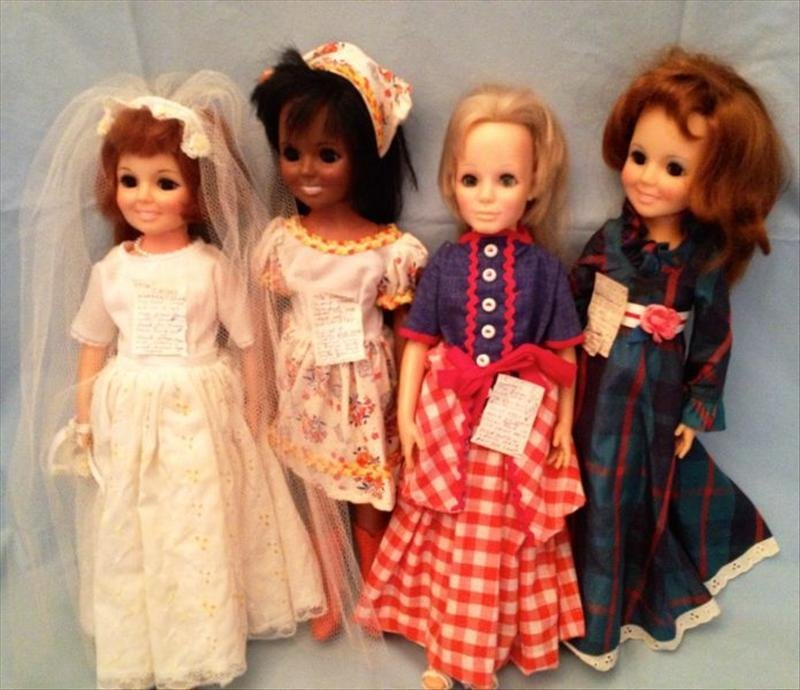 24: Ideal Vinyl Crissy Dolls