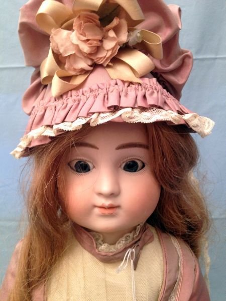 89: French Bisque Head Steiner Doll