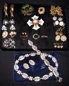 222 Costume Jewelry Lot