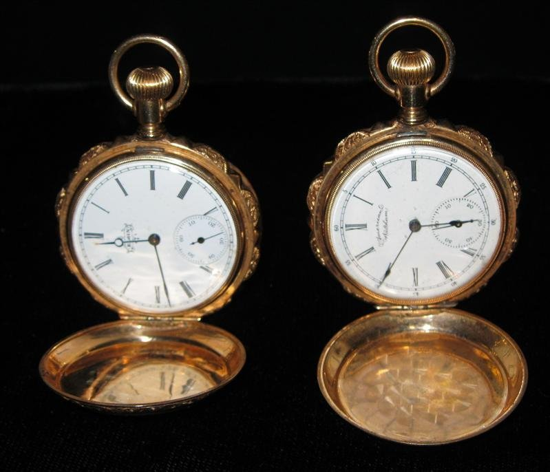 226: 2 Pocket Watches
