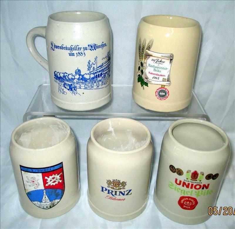 Stoneware Mug Lot