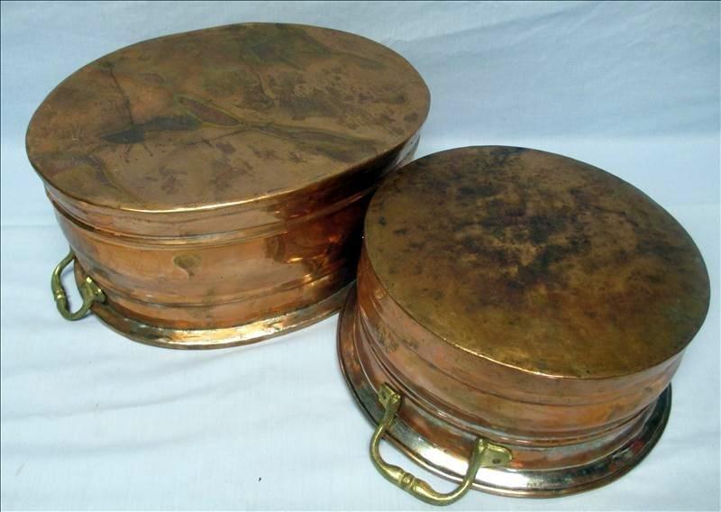Copper Pots With Handles