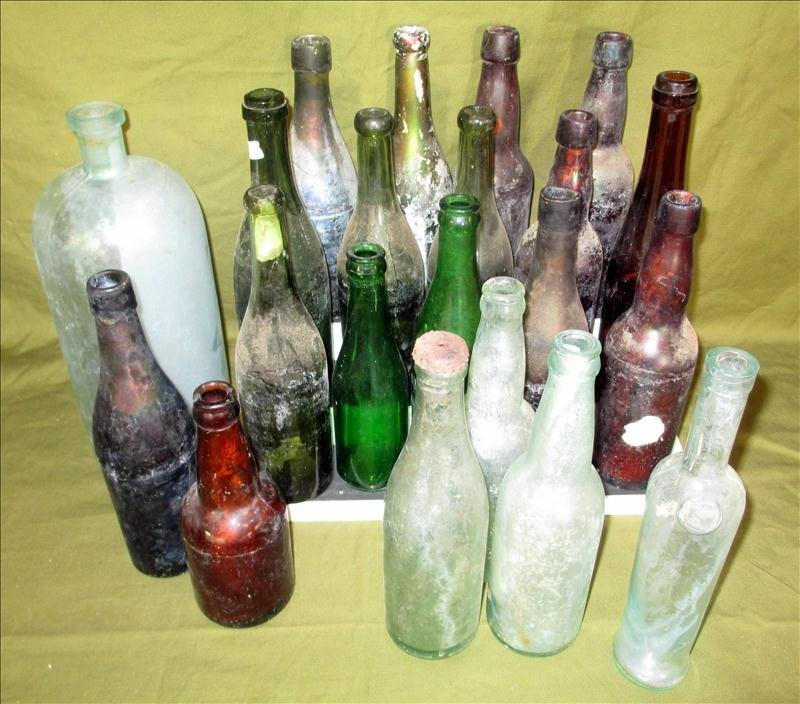 21 Collectible Bottles