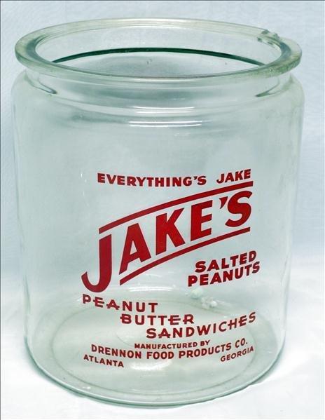 Jake's Display Jar in Red