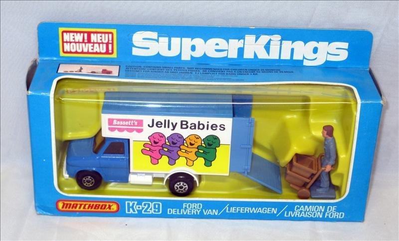 Super Kings Matchbox Delivery Van