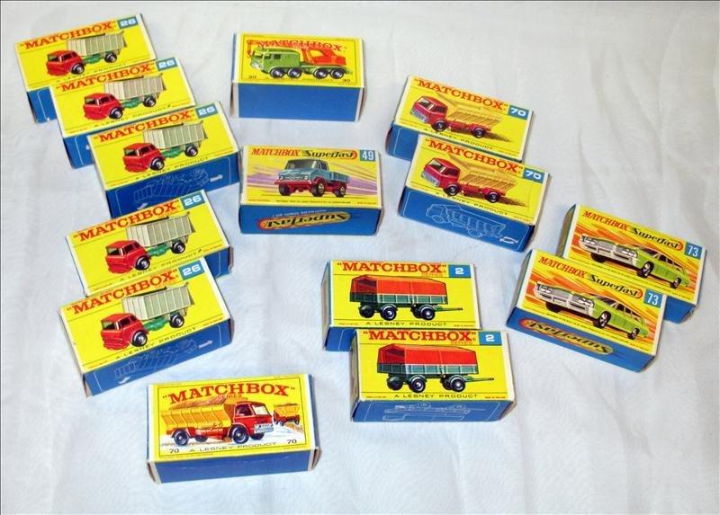 Lesney Matchbox Series Lot