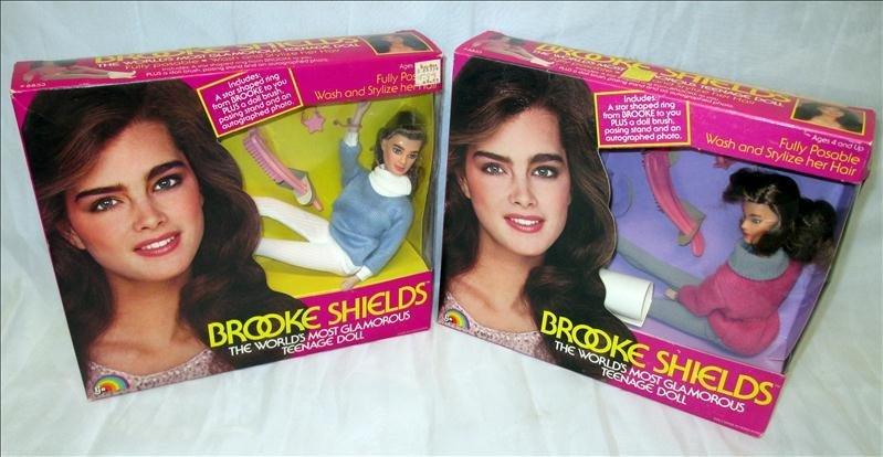 2 Brooke Shields Teenage Glamorous Dolls