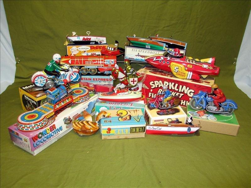 14 Tin Toys