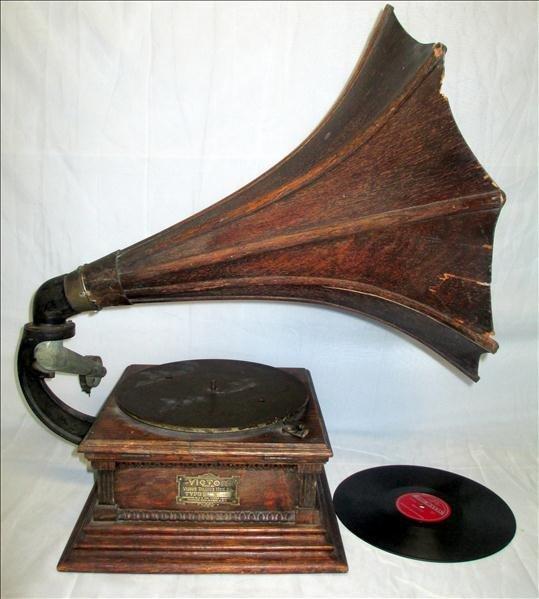 Oak Victor Talking Machine