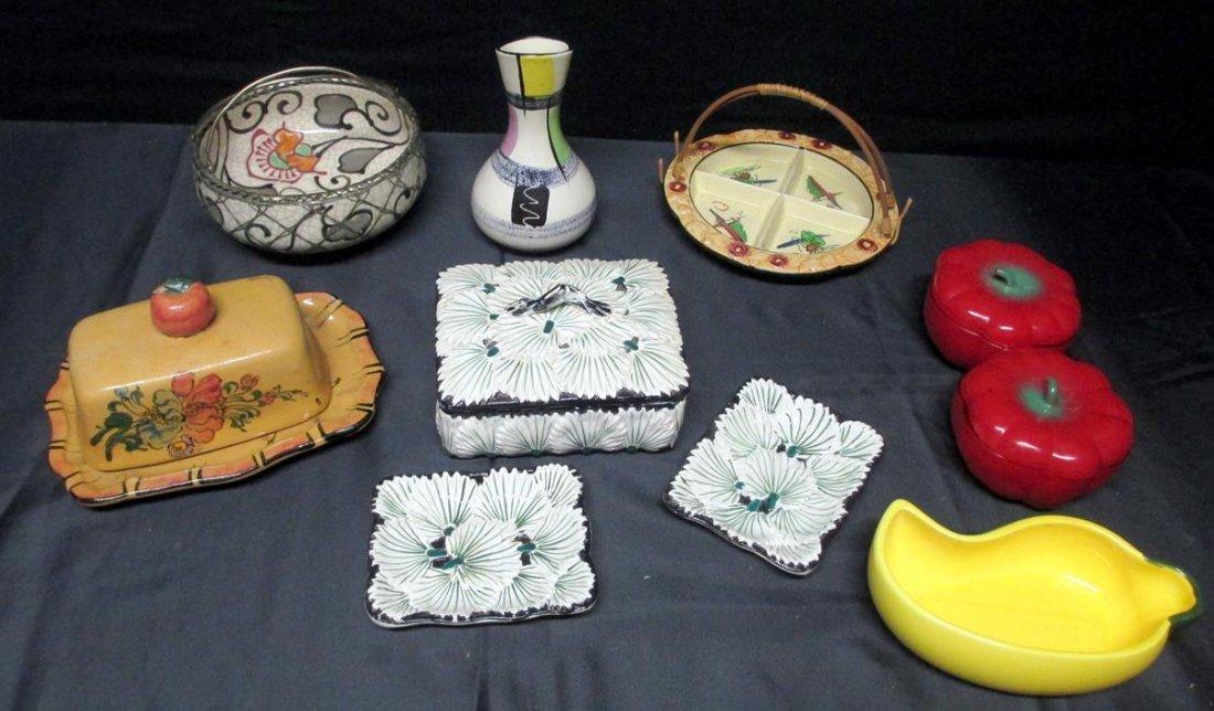 Vintage Ceramic Serving Lot