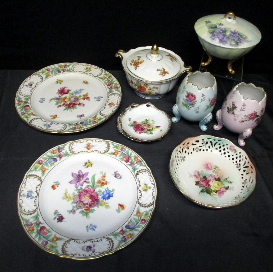 Floral Painted China