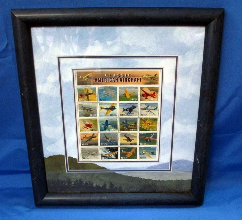 Classic American Aircraft Stamp Collection