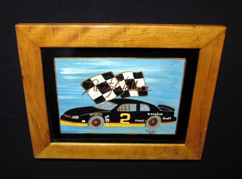 Rusty Wallace Racing Art
