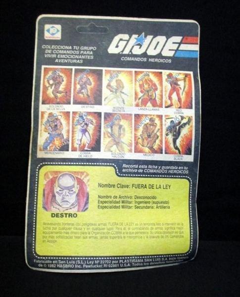 G. I. Joe Destro Action Figure - 2