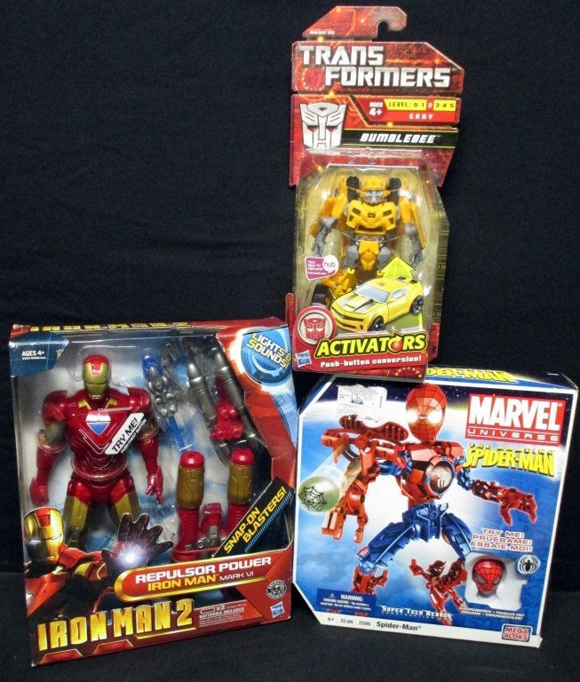 Hasbro & Marvel Action Figures