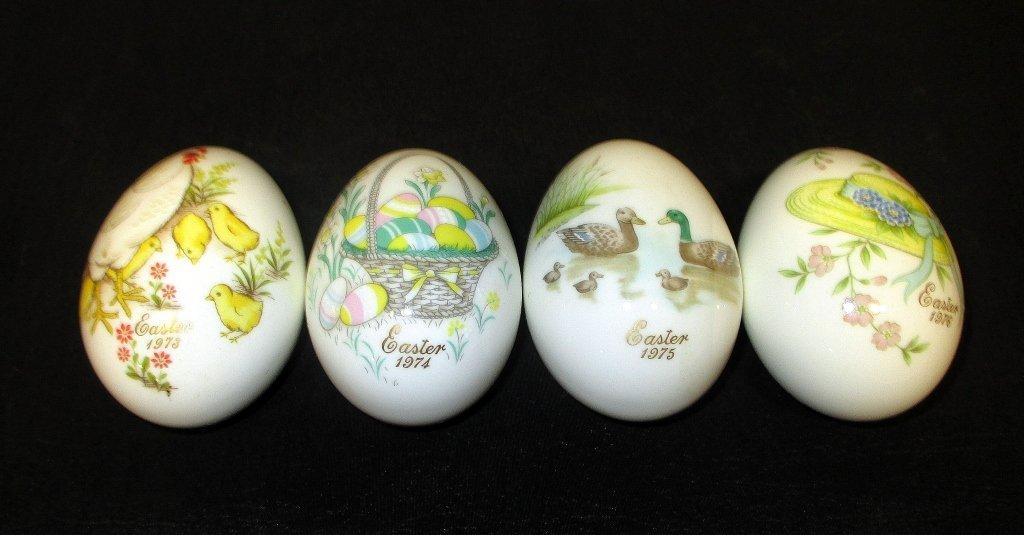 Noritake Bone China Easter Eggs