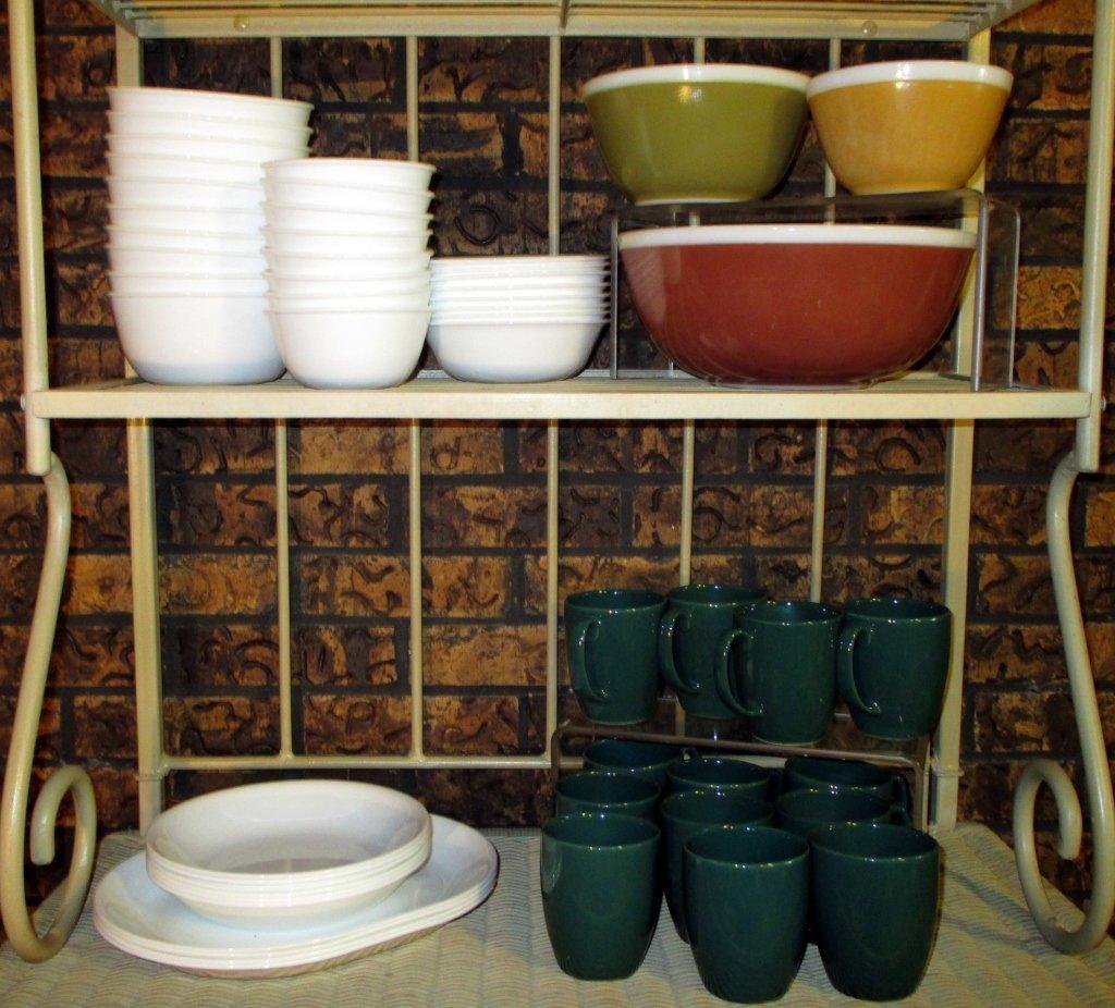 Corelle, Stoneware & Pyrex