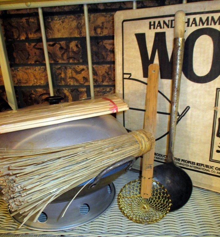 Hand Hammered Wok from China - 2
