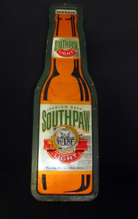 Southpaw Light Beer Sign